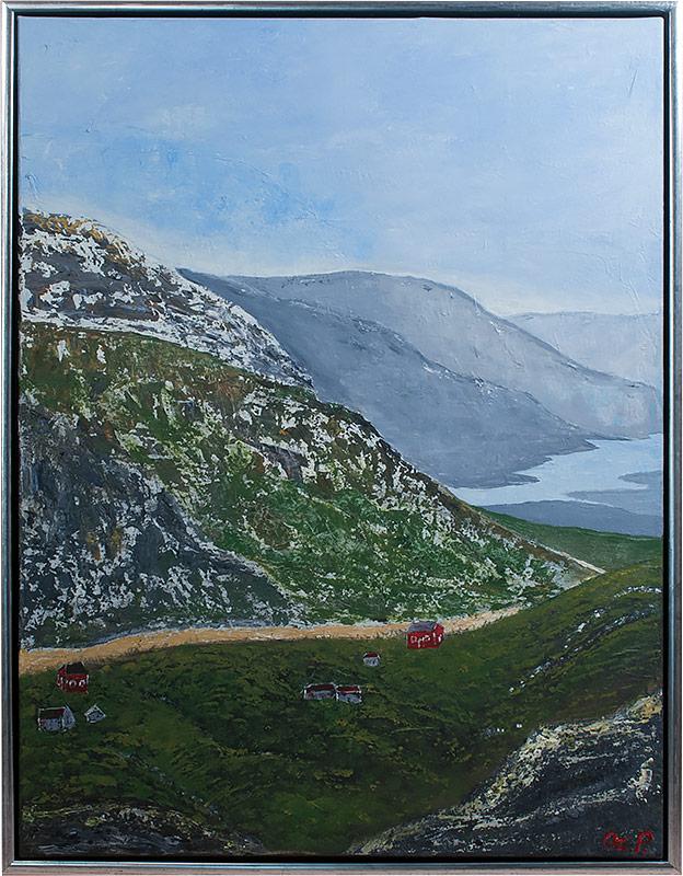 Norsk Landskab 60x80
