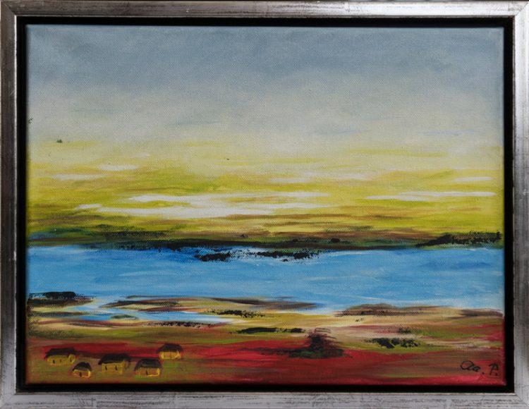 Abstrakt landskab 2