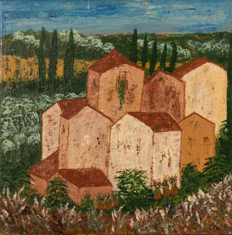 Huse i Toscana 50x50