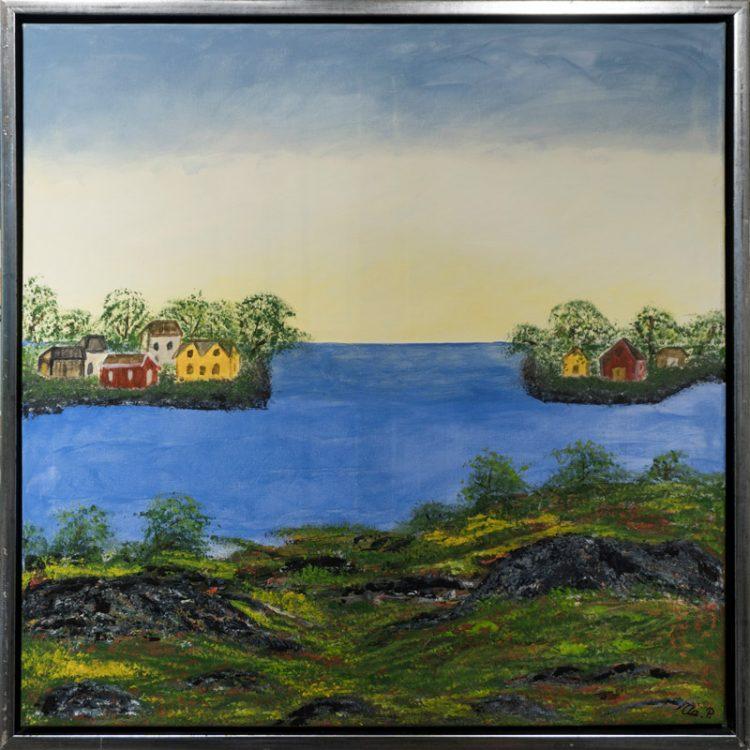 Yderst i fjorden